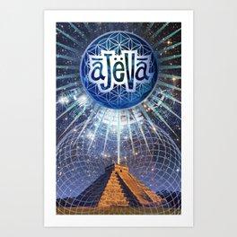 Ajeva Temple Art Print