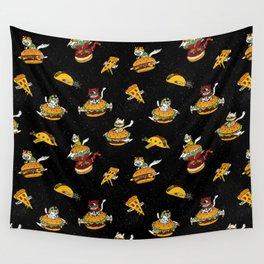 I Can Haz Cheeseburger Spaceships? Wall Tapestry
