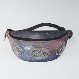 Cosmic Celestial Cycle Fanny Pack