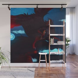 JellyFish Swim Wall Mural