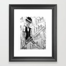 DESTROY Framed Art Print