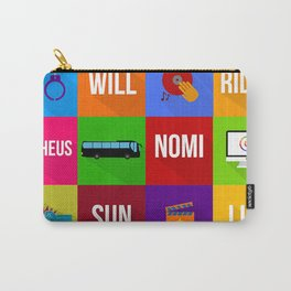 SENSE8 Characters Carry-All Pouch