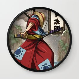 Lufy wano - one piece Wall Clock