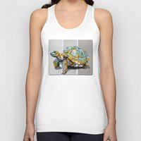 tortoise Tank Tops featuring Tortoise by aceta