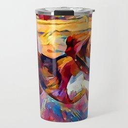 Beach Beagle Travel Mug