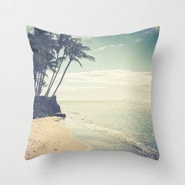 Kihei Maui Hawaii Throw Pillow