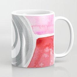 Pink Red Spiral Coffee Mug