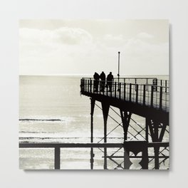 Sea B4 Metal Print
