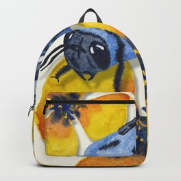 Carpenter Bee Blooms Backpack