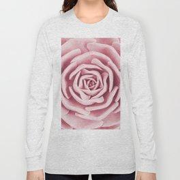 Pink Succulent Long Sleeve T-shirt