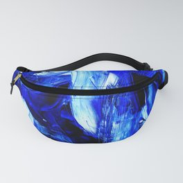 Dancing In Blue No. 1 by Kathy Morton Stanion Fanny Pack