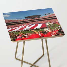 10th Anniversary of 9/11 at Arrowhead Stadium Side Table