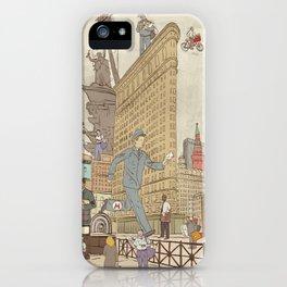 St. Petersburg Literary Map iPhone Case