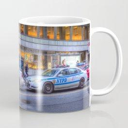 New York police Department Cars Coffee Mug
