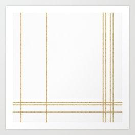 Gold Lines - 1 Kunstdrucke
