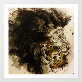 Lion's Den Art Print
