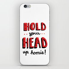 Head Up iPhone & iPod Skin