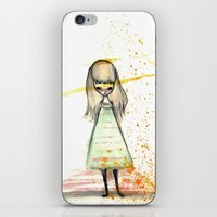 sister iPhone & iPod Skins featuring Sister by solocosmo