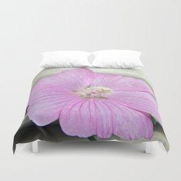 Pink Musk Mallow Duvet Cover
