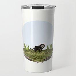 Tasmanian devil (Sarcophilus harrisii) Travel Mug