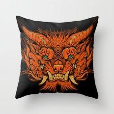Foo Dog Throw Pillow