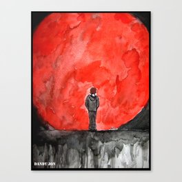 The Red Moon Canvas Print