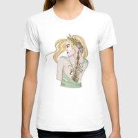 virgo T-shirts featuring Virgo by Vibeke Koehler