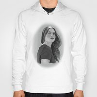 lydia martin Hoodies featuring Lydia by Lauren Spooner