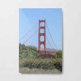 San Francisco Golden Gate Metal Print