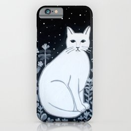 Night Cat iPhone Case