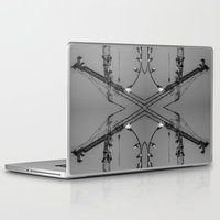 crane Laptop & iPad Skins featuring Crane by Nevena Kozekova