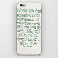 dr seuss iPhone & iPod Skins featuring Dr. Seuss by Emilie Darlington