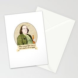 BEN AND BEER Stationery Cards