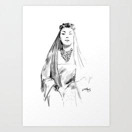 Auntie Mame Art Print