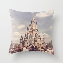 Magic Kingdom Cinderella Castle Throw Pillow