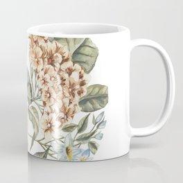 Circular Pastel Florals Coffee Mug
