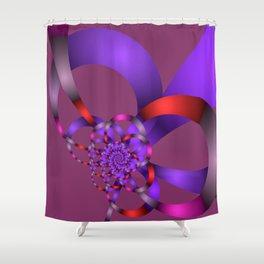 fractal geometry -152- Shower Curtain