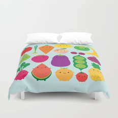 5 A Day Duvet Cover