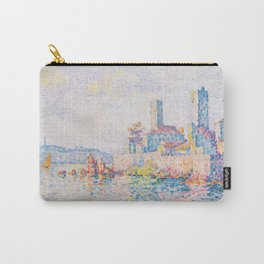 Paul Signac - The Towers at Antibes Carry-All Pouch