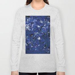 Blue Chaos Long Sleeve T-shirt