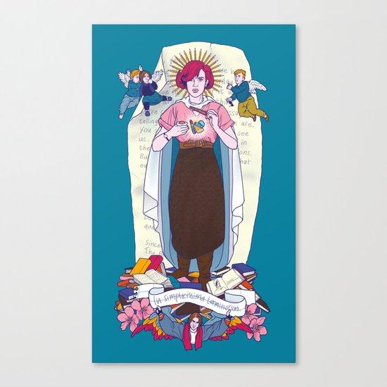 Virgen de Shermer Canvas Print