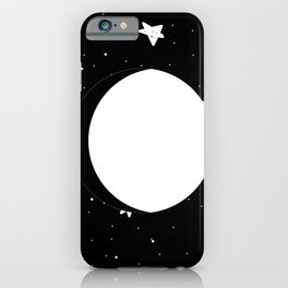 Moon Phases: waxing gibbous iPhone Case