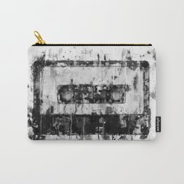 cassette / tape Illustration black and white painting Carry-All Pouch