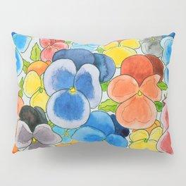 A riot of colour Pillow Sham