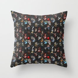 Horror Icon Awww-bominations Throw Pillow