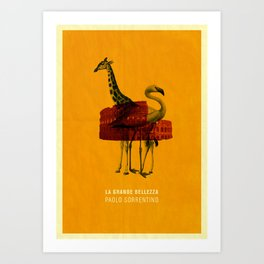 The Great Beauty Poster Art Print