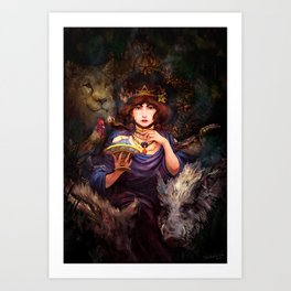 Circe the Enchantress Art Print