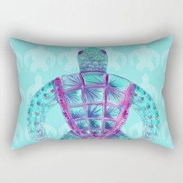 Tomas in Aqua Rectangular Pillow