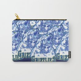 GRIZZLIES HAND-DRAWING DESIGN Carry-All Pouch
