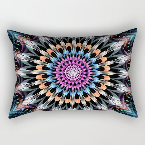 The flower of happiness Rectangular Pillow